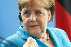 'I am fine', says Merkel after third bout of shaking